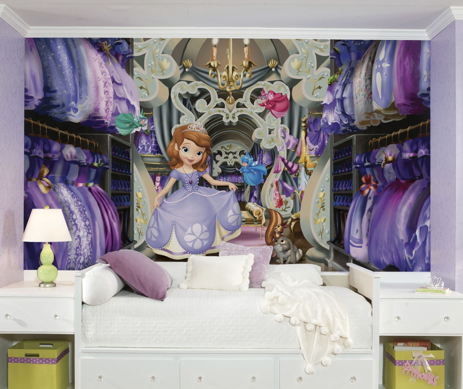 Best Sofia The First Decor Totally Kids Totally Bedrooms Kids Bedroom Ideas With Pictures