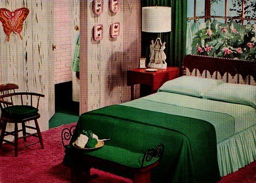Best Green And Pink Bedroom Ladies Home Journal Book Of With Pictures