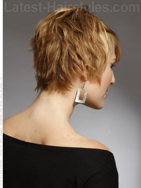Free Short Haircuts Front And Back View Wallpaper