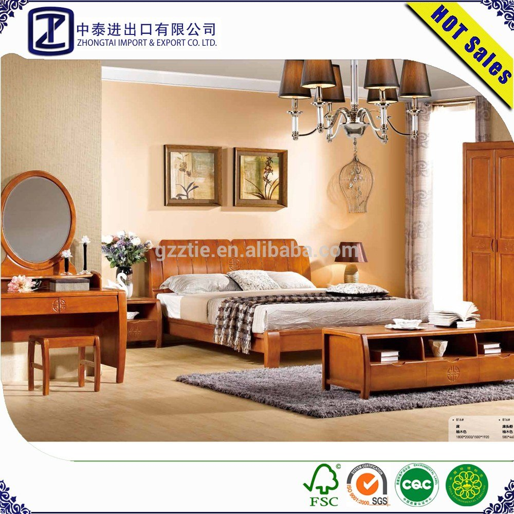 Best Solid Wood Bed Modern Bedroom Furniture For Home Life With Pictures