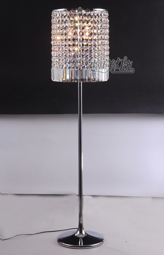Best Simple Crystal Standing Light Lamps Bedside Creative With Pictures