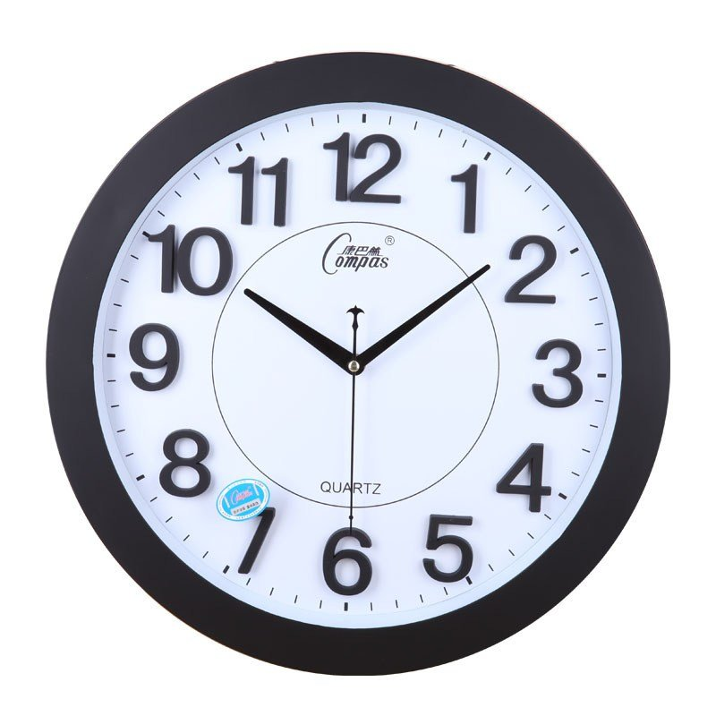 Best Clocks Mute Wall Clock Stereo Digital Fashion Brief With Pictures
