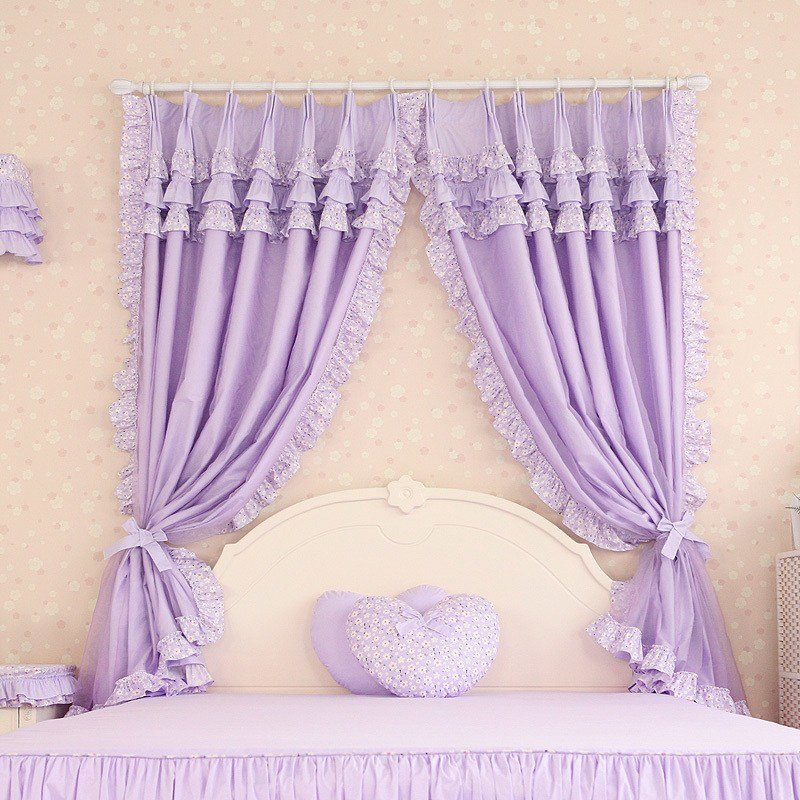 Best 55 Best Girls Bedroom Curtains 2017 Roundpulse With Pictures