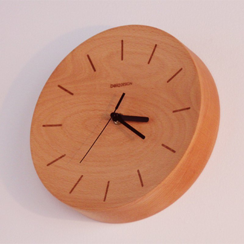 Best Beladesign Wall Clock Bedroom Number Wall Clock Clock Wood With Pictures