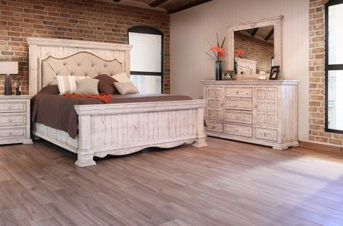 Best Bella Bedroom Group Oak Factory Outlet Furniture Store With Pictures