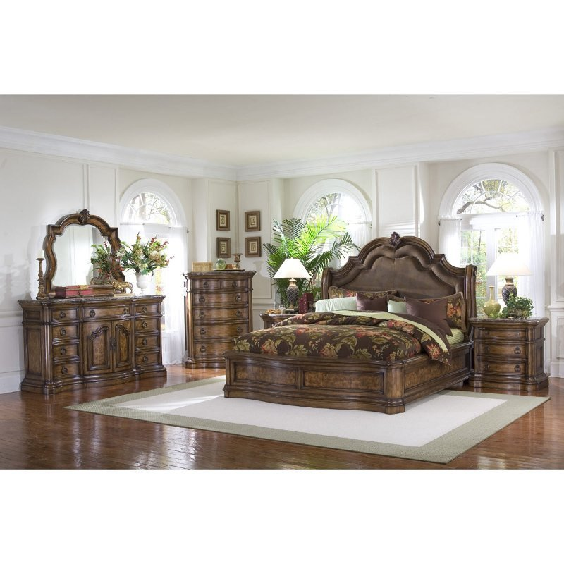 Best San Mateo 6 Piece Cal King Bedroom Set With Pictures