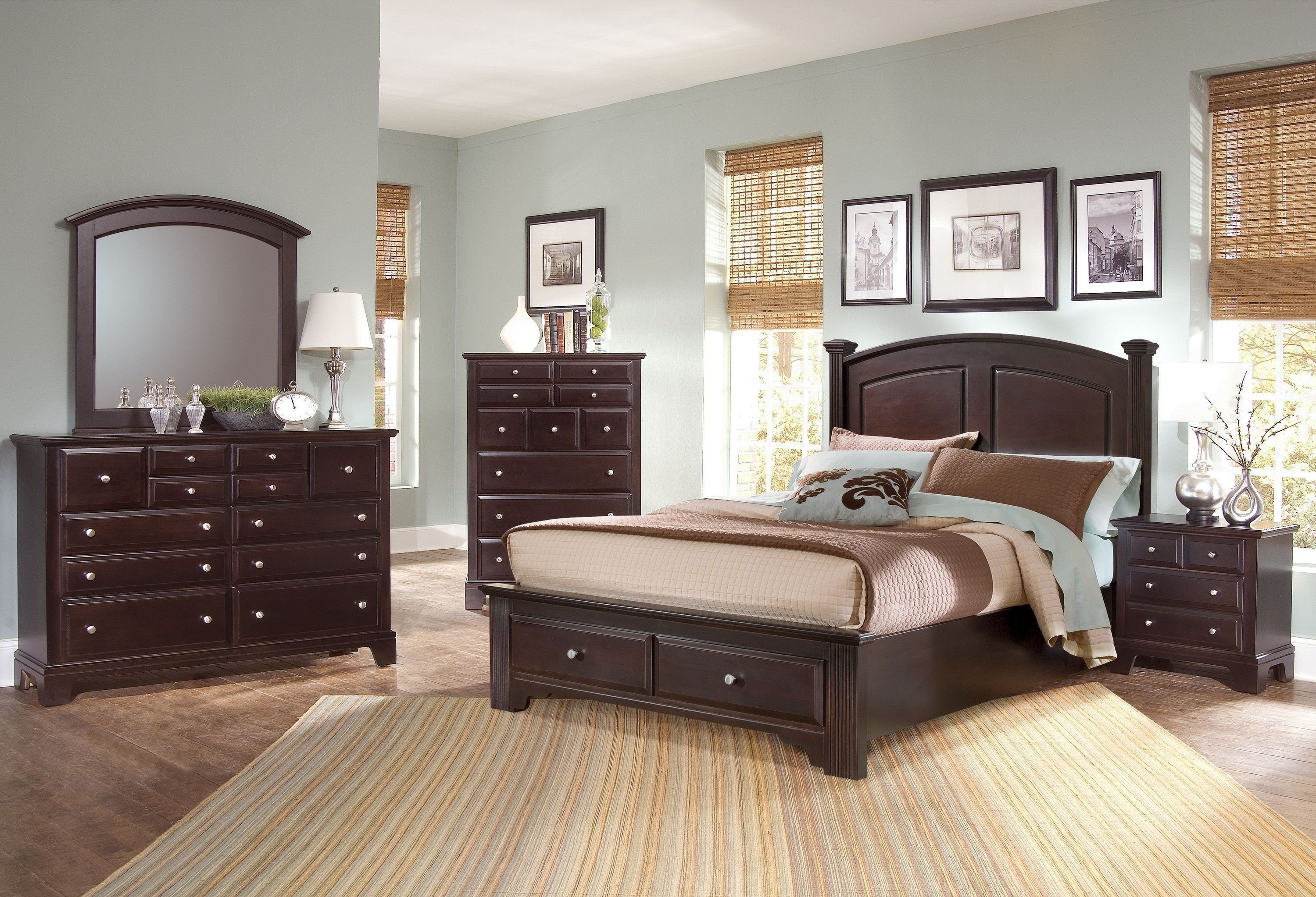Best Vaughan Bassett Bedroom Triple Dresser Bb4 002 Americana With Pictures