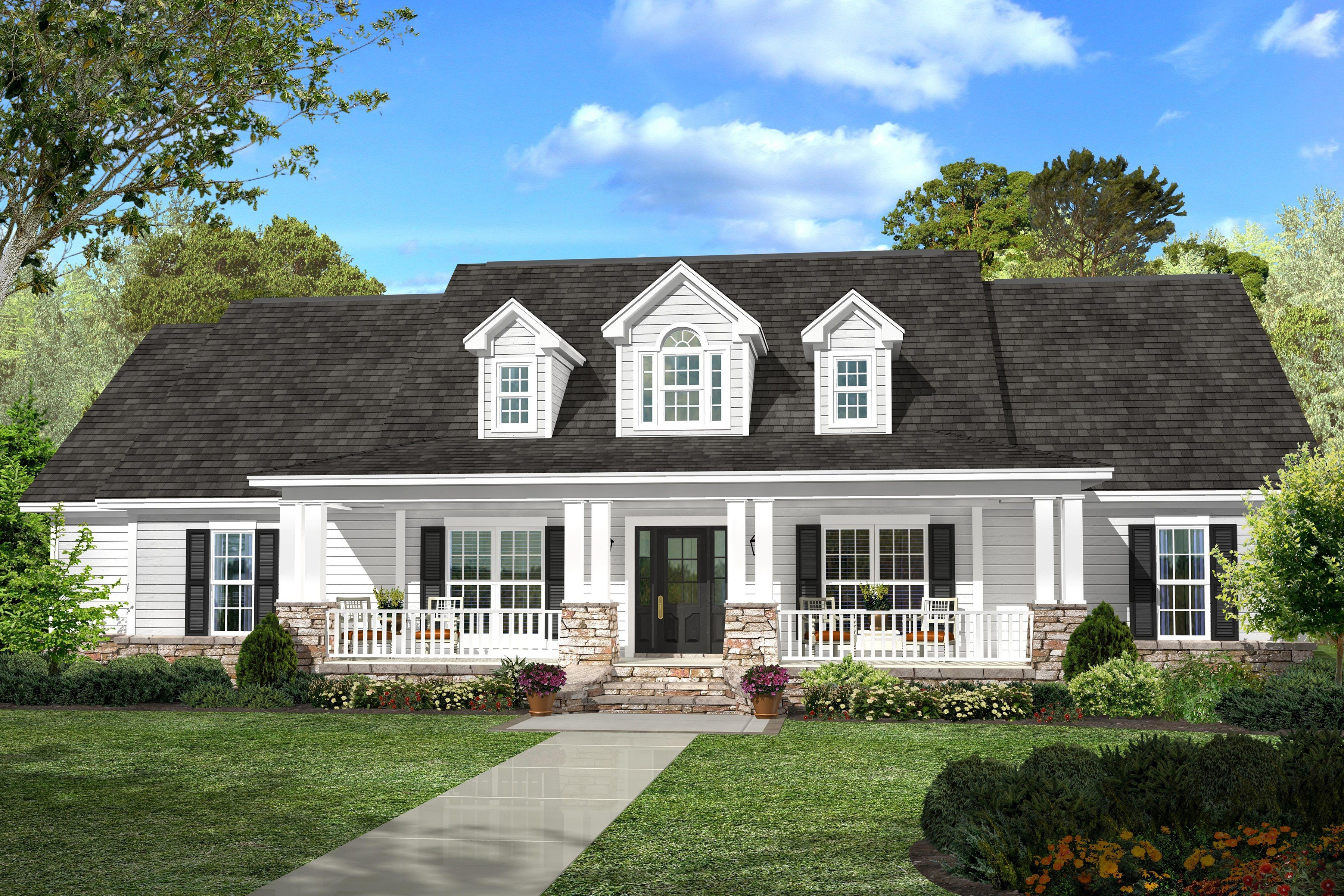 Best Country House Plan 142 1131 4 Bedrm 2420 Sq Ft Home Theplancollection With Pictures