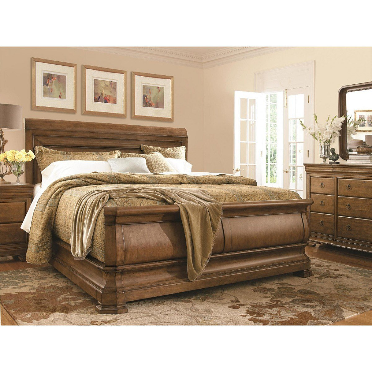 Best Pennsylvania House New Lou Louie P S Sleigh Bedroom Set With Pictures