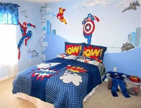Best Avengers Superhero Bedroom Ideas Bedding And Wallpaper With Pictures