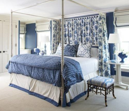 Best Blue And White Bedroom Design The Interior Design With Pictures