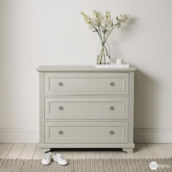 Best The White Company Provence 3 Drawer Chest Of Drawers Pale With Pictures