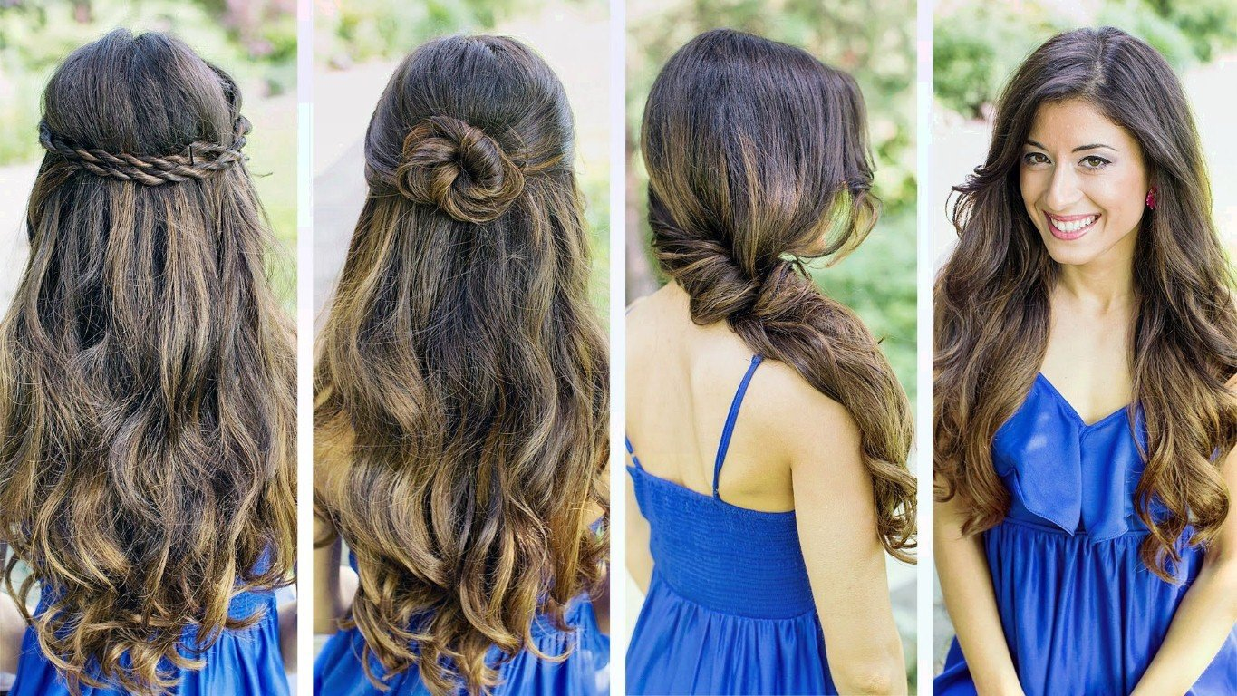 Free Five Quick And Easy Hairstyles For Girls On The Go Wallpaper