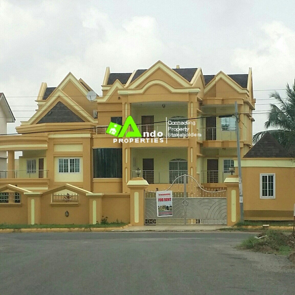 Best 6 Bedroom House With Swimming Pool Renting Nowando With Pictures