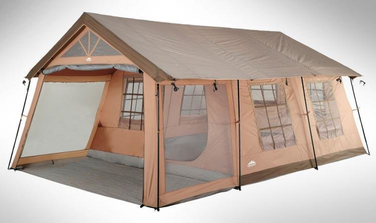 Best Giant House Shaped Tent With A Front Porch Fits 10 People With Pictures