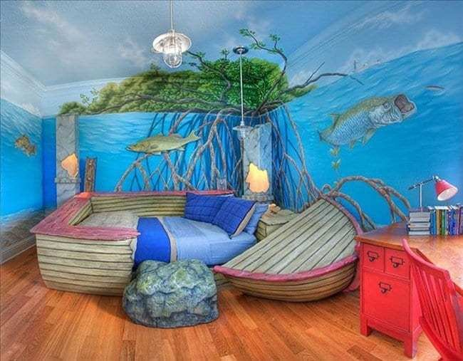 Best 22 Awesome Themed Bedrooms That Every Kid Would Love With Pictures