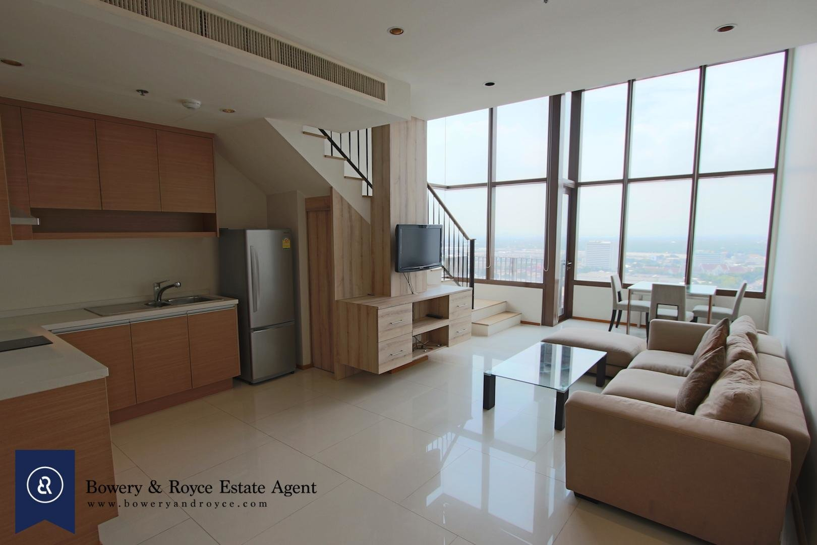 Best Modern One Bedroom Duplex For Rent In Phrom Phong Bowery With Pictures