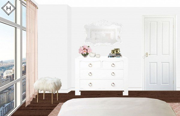 Best My Chicago Bedroom Parisian Chic Blush Pink — Bows With Pictures