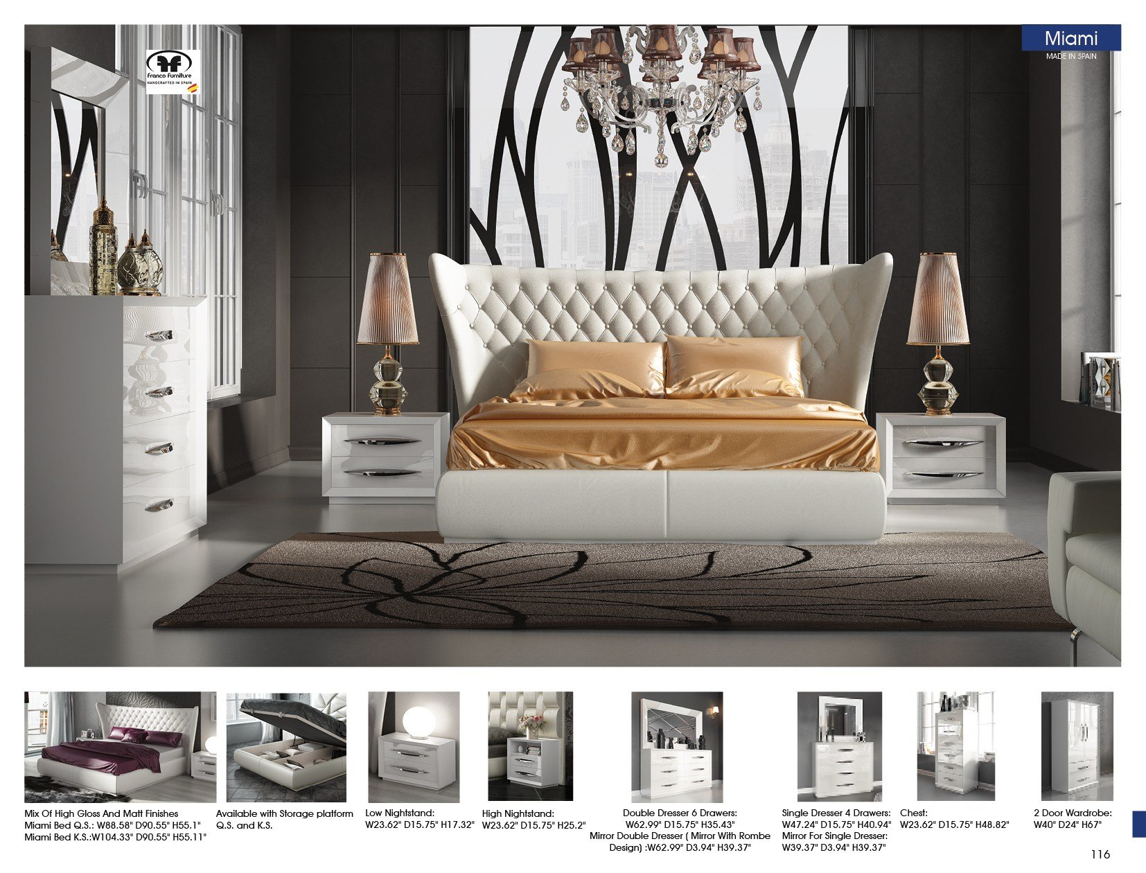 Best Miami Bedgroup Modern Bedrooms Bedroom Furniture With Pictures