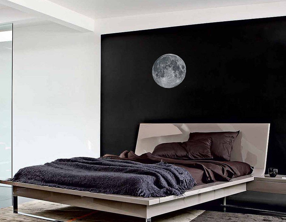 Best Full Moon Wall Sticker Contemporary Wall Stickers With Pictures