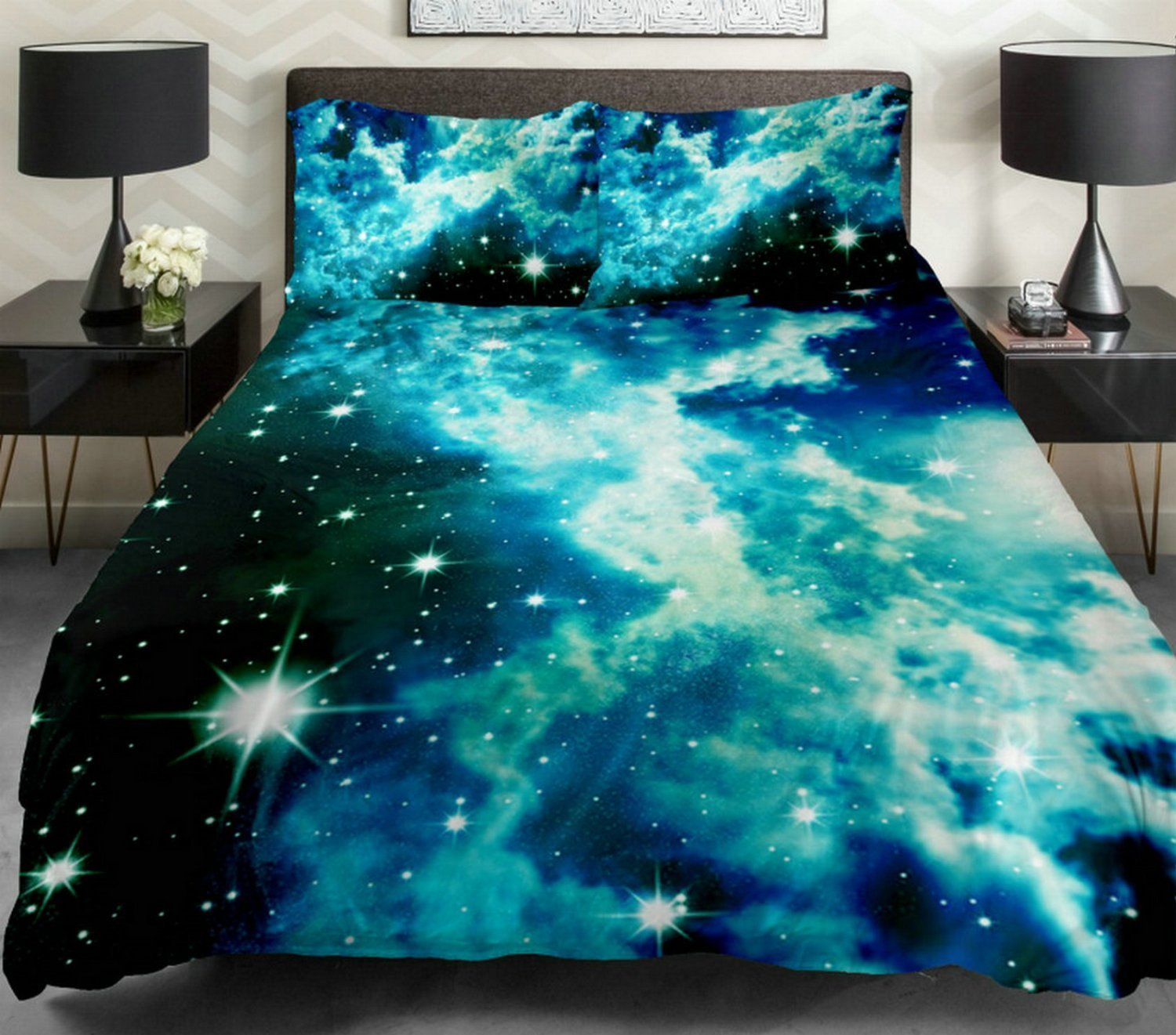 Best 14 Amazing Galaxy Bedding Sets And Outer Space Bedding With Pictures