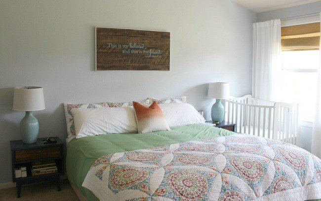 Best Quick And Easy Master Bedroom Makeover Domestic Imperfection With Pictures
