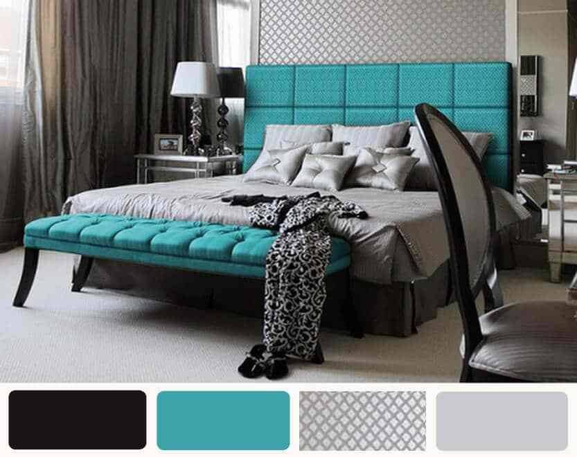 Best Turquoise Bedroom Trends 2017 For More Freshness With Pictures