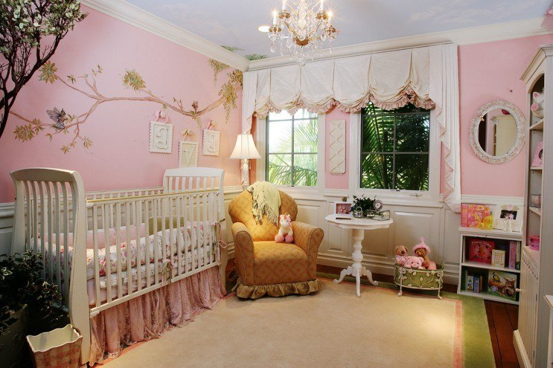 Best Fabulous Baby Girl Bedroom Themes To Adopt Decohoms With Pictures