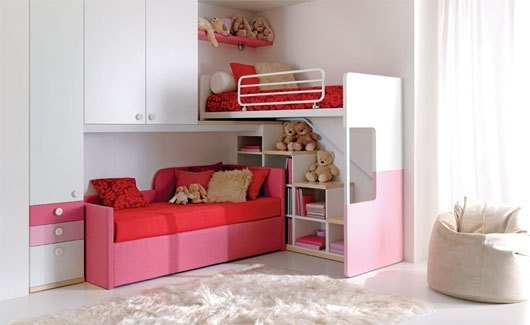 Best Cute Bedroom Furniture For Two Kids In One Room With Pictures
