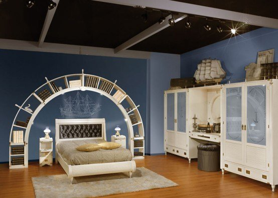 Best Great Sea Themed Furniture For Girls And Boys Bedrooms By Caroti Designtodesign Magazine With Pictures