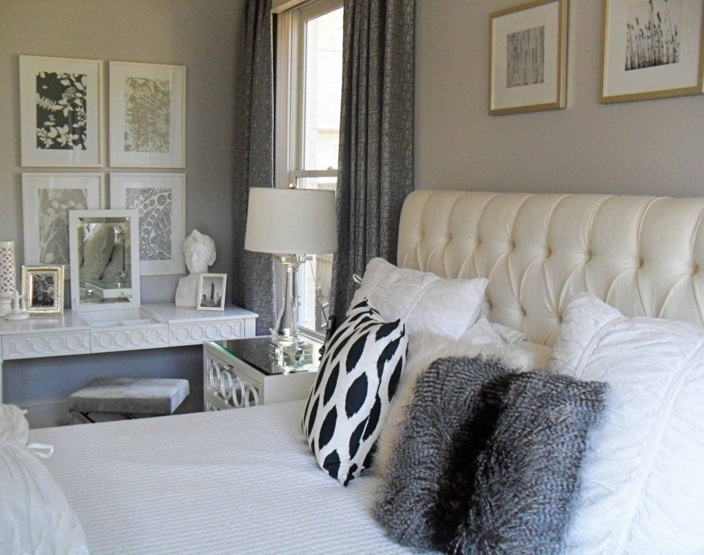 Best Current Project Transforming A Neutral Master Bedroom Into A Grey And White Retreat Design With Pictures
