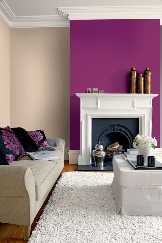Best Color Passion 30 Bold Painted Accent Walls Digsdigs With Pictures
