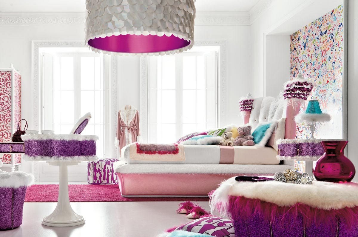 Best Charming And Opulent Pink Girls Room – Altamoda Girl With Pictures