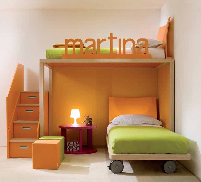 Best Cool And Ergonomic Bedroom Ideas For Two Children By With Pictures