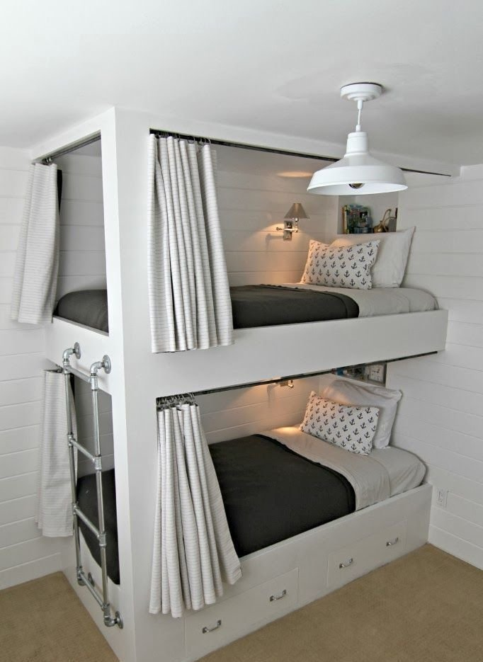 Best 25 Functional And Stylish Kids' Bunk Beds With Lights Digsdigs With Pictures