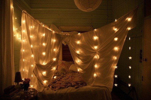 Best 48 Romantic Bedroom Lighting Ideas Digsdigs With Pictures