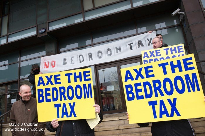 Best Bedroom Tax Protest In Liverpool Djc Design With Pictures