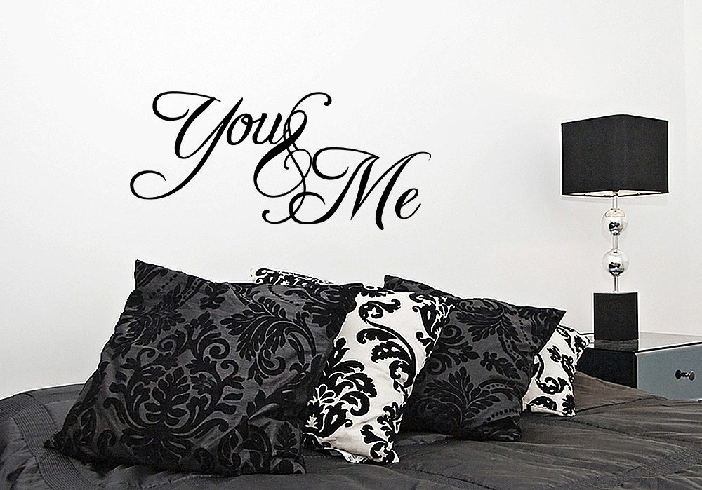 Best You And Me Bedroom Vinyl Wall Decal Sticker Quote Art Love With Pictures