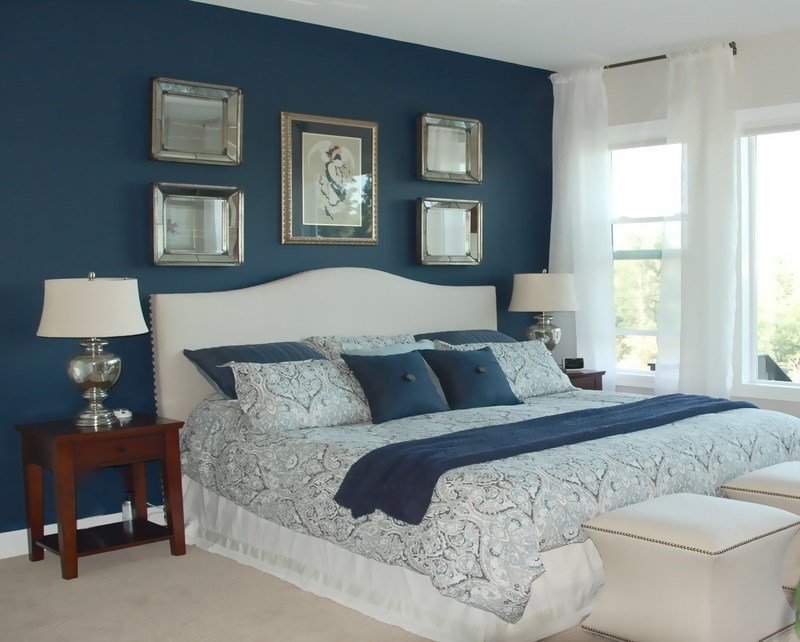 Best Royal Blue Painted Bed Room Furnitureteams Com With Pictures