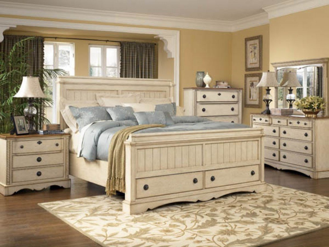 Best Country Themed Bedroom White Country Style Bedroom With Pictures
