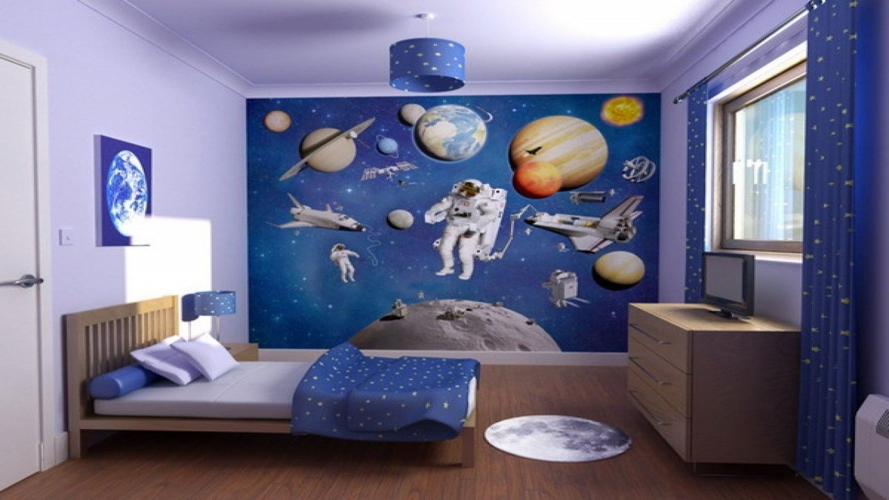 Best Space Bedroom Decor Space Themed Bedroom Ideas Bedroom With Pictures