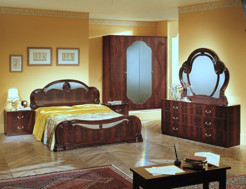 Best Melania Italian Classic 5Pc Bedroom Set Bedroom Sets With Pictures