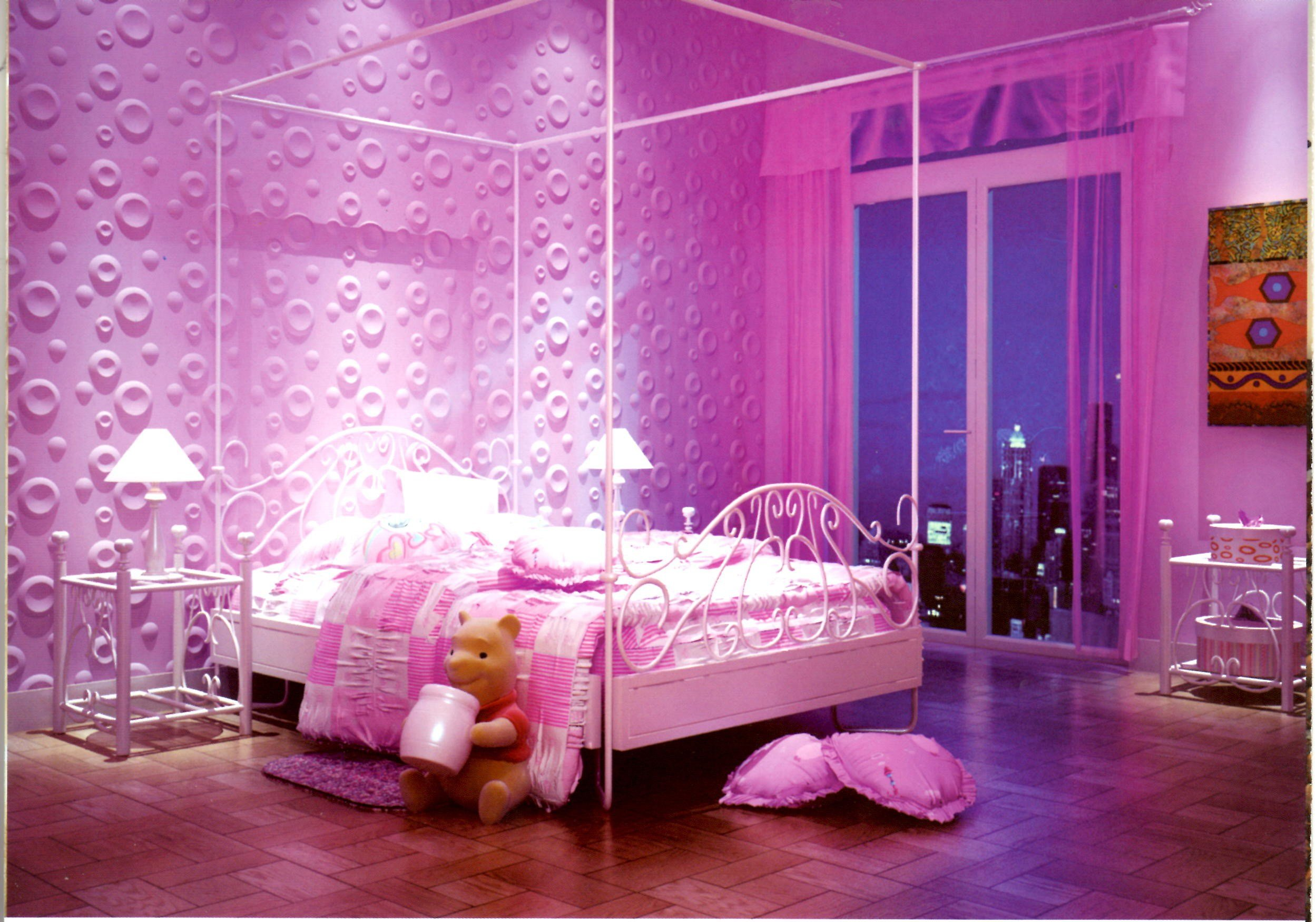 Best Wallpapers For Bedrooms Walls Pink And Purple Girls With Pictures