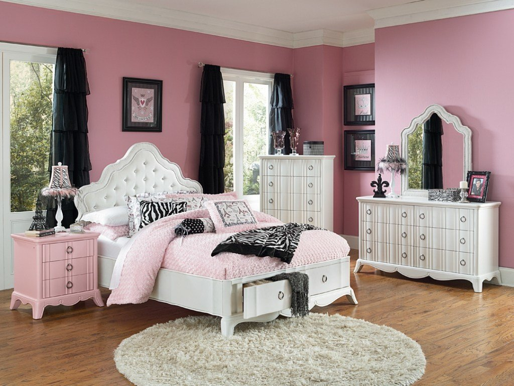 Best Bedrooms With Black Beds Girls White Full Size Bedroom With Pictures