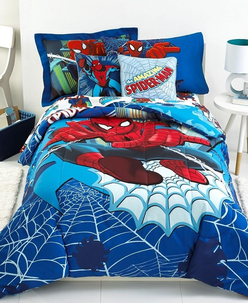 Best Jay Franco Spiderman Go Spidey Twin Comforter Set With Pictures