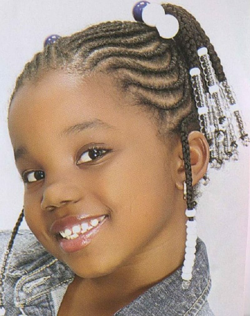 Free 64 Cool Braided Hairstyles For Little Black Girls – Hairstyles Wallpaper