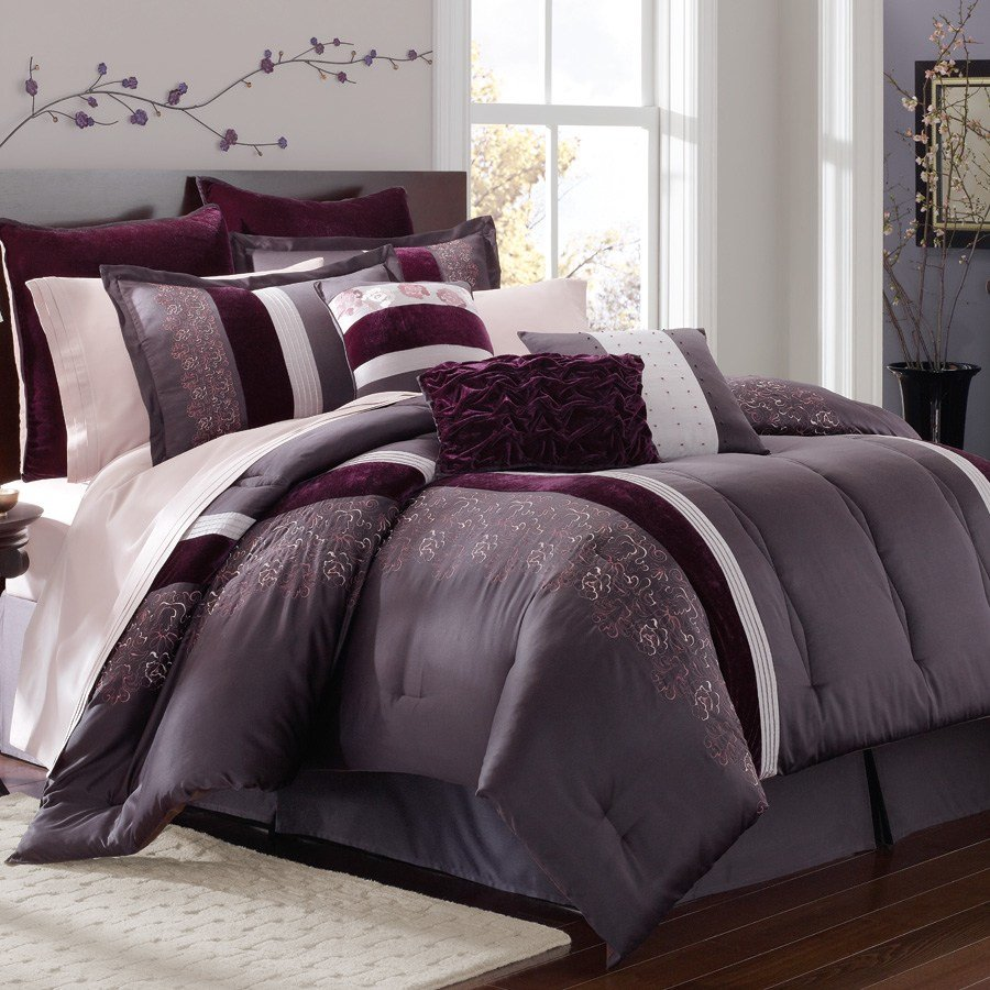Best Grey Purple Bedroom Purple And Grey Rooms Purple And Grey With Pictures