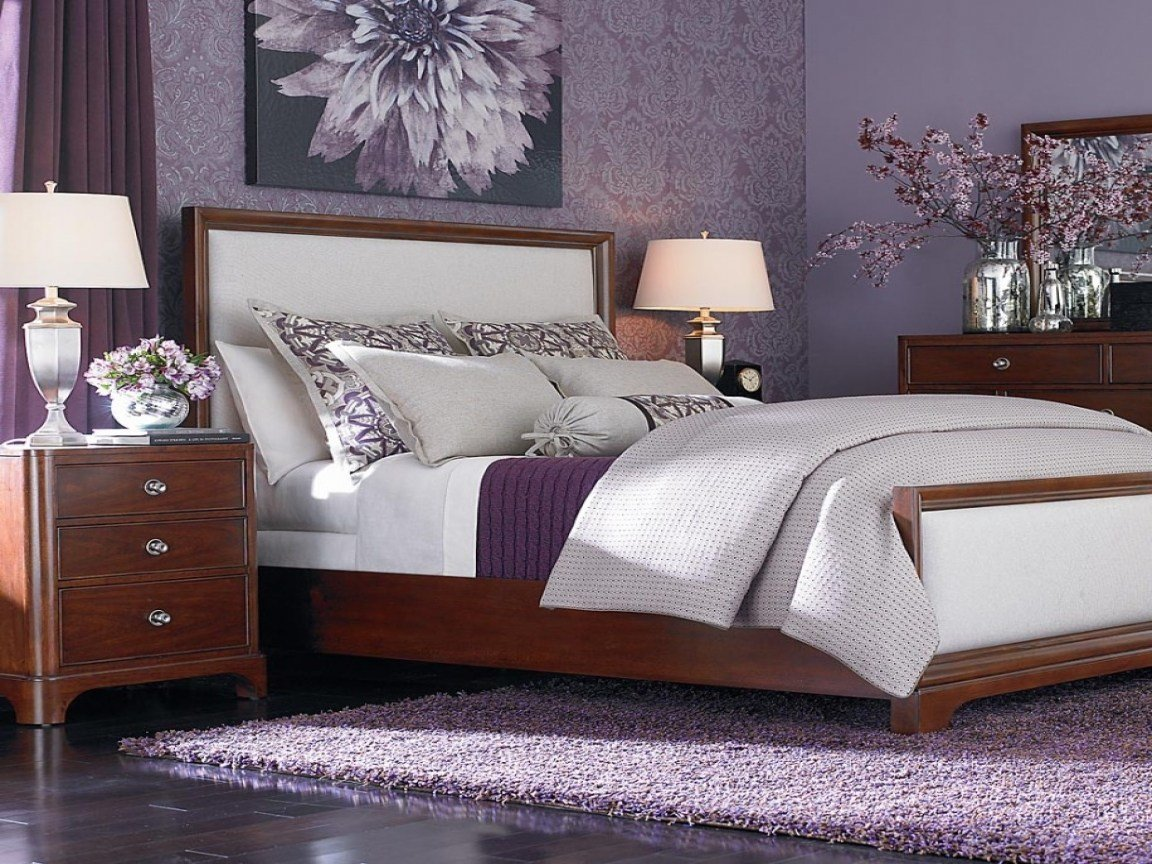 Best Grey Purple Bedroom Purple Bedroom Decorating Purple With Pictures