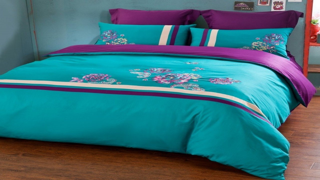 Best Turqoise Bedding Purple And Turquoise Comforter Sets With Pictures