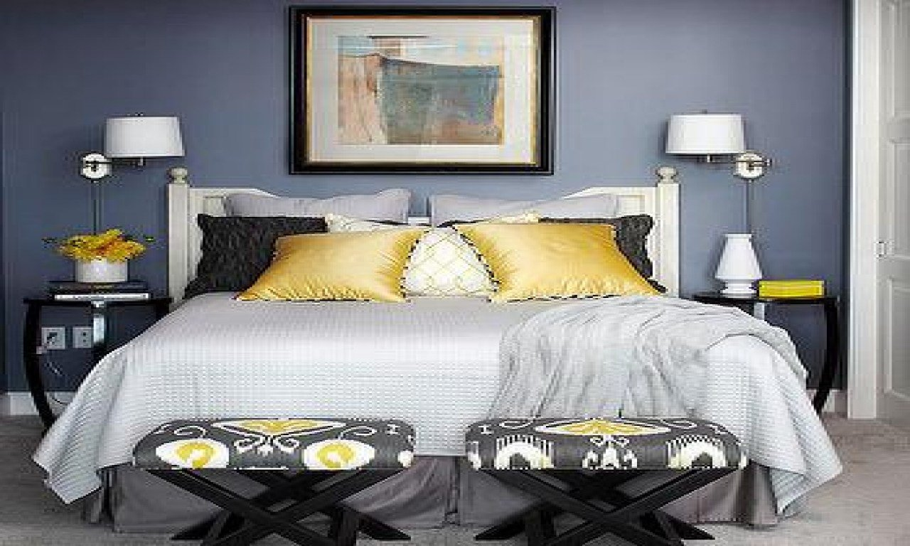 Best Gray Yellow Bedroom Blue Yellow And Gray Bedroom Blue With Pictures